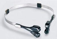 德国拉贝头夹式骨导助听器